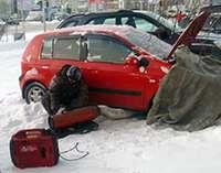 Отогрев автомобиля в Москве